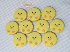 Estrade's cakes: galletas infantiles de pollito.