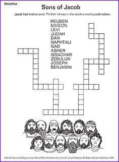 Sons of Jacob puzzle