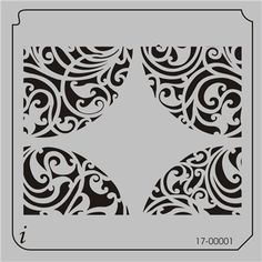 Stair stencil - All Over Repeats Stencils - Wallpaper Stencils - Stencil Pattern