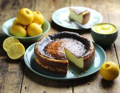 Baked Cheesecake with Citron Beldi Curd Recipe   Abel & Cole
