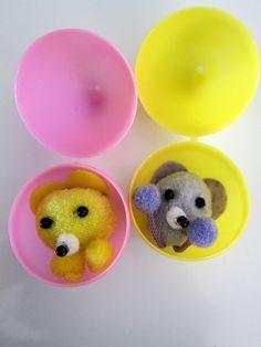 Handmade Little Bear Easter Egg Fillers #Easter #EasterEgg #EasterEggFillers #CuteGifts