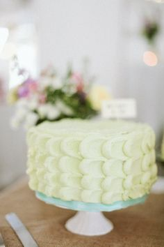 pastel soft-iced cake captured by Lisa O Dwyer  created by: http://www.perfectionistconfectionist.com