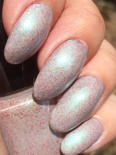 LilypadLacquer Sally's Song from the Tim Burton Collection (DAZZLED exclusive) - Christmas 2014