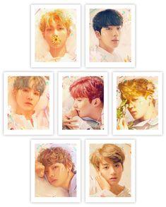 BTS: Love Yourself Portrait Set by Kildren   Sideshow Fine Art Prints Fanmeeting Bts, Bts Predebut, Vlive Bts, Bts Love Yourself, Bts Concert, Sideshow Collectibles, Bts Video, Bts Photo, Bts Wallpaper