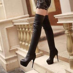 Sexy thigh high boot