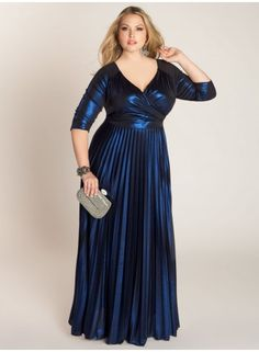 plus size maxi gown at www.curvaliciousclothes.com