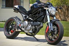 "DUCATI MONSTER 696 ""SSS CONVERSION"" by VANCE HARPER"