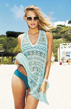 Beach Getaway Essential: Breezy Cover-up #Nordstrom