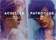 okay this is beautiful but ngl i thought patroclus was maxmoefoe and i screamed Greek And Roman Mythology, Greek Gods And Goddesses, Percy Jackson, Achilles And Patroclus, Fantasy Names, Captive Prince, Mystique, Character Names, Heroes Of Olympus
