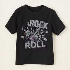 baby boy - graphic tees - rock 'n roll graphic tee | Children's Clothing | Kids Clothes | The Children's Place