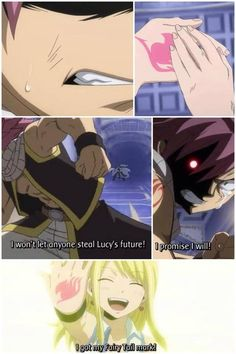 Nalu Fairy Tail Natsu and Lucy Fairy Tail Nalu, Fairy Tail Ships, Fairy Tail Fotos, Fairy Tail Natsu And Lucy, Fairy Tail Family, Fairy Tail Couples, Awesome Anime, Anime Love, Fairytail