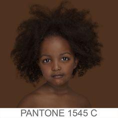 Os tons de pele inseridos na escala Pantone