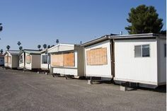 Older trailers built before 1976 conform to different building codes than those built later. Because of this, many of these older homes require repair and remodeling to be brought up to local building codes. While repairing mobile homes is possible, determining the cost and time of repair depends on the age and condition of the mobile home.