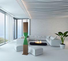 Ateliers Torsades - Helico floor lamp - Design By Roger Pradier