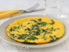 Vajcová omeleta so špenátom