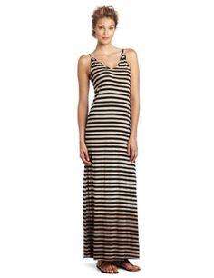 awesome Michael Stars Women's Sleeveless V-Neck Maxi Dress