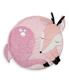 So precious for a baby girl! Travel & Comfort Deer Tactile Play Mat today!