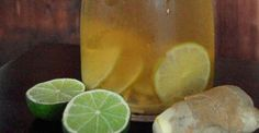 Ice Tea - Limette & Ingwer - Low Carb, High Protein Rezept