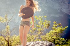 www.matteo-destefano.it  #vintage #inspirations #ideas #idea #girl #posing #summer #glamour #inspiration #photographer #italianstyle #light #naked #skin #hat #hair #fashion #style #italy #trentino