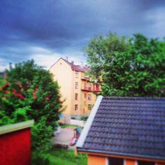 Vålerenga Oslo, Solar Panels, Norway, Sidewalk, Outdoor Decor, Home Decor, Sun Panels, Decoration Home, Solar Panel Lights