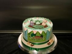 Edible Art of the Day winner for Sunday July 22, 2012 is Michelle Davey and her Mr. Blooms nursery cake.  congrats