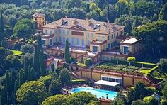 Villa Leopolda at the Cote D'Azur in France is the most expensive villa in the world: $506 million