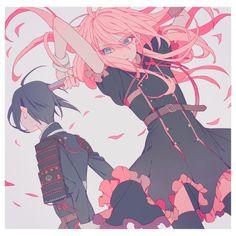 Anime girl and boy Art Anime, Anime Kunst, Anime Oc, Manga Art, Kawaii Anime, Cute Characters, Anime Characters, Vaporwave, Persona Anime