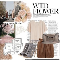 How To Wear Wild Flowers in the City Outfit Idea 2017 - Fashion Trends Ready To Wear For Plus Size, Curvy Women Over 20, 30, 40, 50