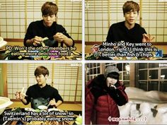 Jonghyun is so good at predicting... Taemin XD!!