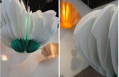 Butterfly lamps by Paula Arntzen