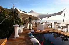 A world class exclusive beach wedding venue in Cape Town is the intimate Tintswalo Atlantic lodge. Wedding Venues Beach, Wedding Locations, Wedding Themes, Wedding Reception, Wedding Ideas, Birthday Party Venues, Boulder Beach, Atlantic Beach, Wedding Venue Inspiration