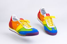 BOTAS 66 Rainbow Maker Timeless Fashion, Baby Shoes, Footwear, Classy, Style Inspiration, Female, Womens Fashion, Sneakers, Rainbow
