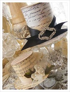 Pinspiration:  Victorian Top Hats