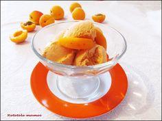 Înghețată de caise Parfait, Ice Cream, Desserts, Food, No Churn Ice Cream, Tailgate Desserts, Deserts, Icecream Craft, Essen
