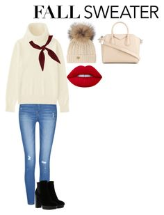 """Untitled #405"" by dianamarierg on Polyvore featuring Uniqlo, Givenchy, Chloé, Hogan, Holland Cooper and Lime Crime"