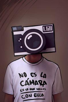 CameraHead    ...Sería igual que atribuirle la comida a las ollas, las frases al lápiz, el solo a la guitarra...    No importa el rango de cámara, sino los 30 cm detrás de ella.  (via http://www.flickr.com/photos/wi2_photography/)