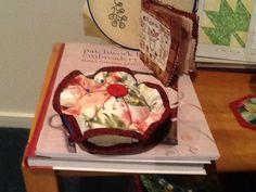 Pincushion Sewing Accessories, Pin Cushions, Pudding, Cake, Desserts, Food, Tailgate Desserts, Deserts, Custard Pudding