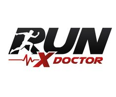 Run X Doctor Logo = 49 Creative Fitness and Gym Logo Design Inspirations 2016/17 UK/USA