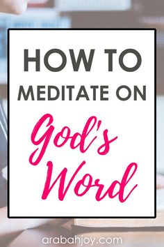 How do you view the word meditation? Do you know there are benefits of biblical meditation? Click through to learn about biblical meditation bible bible study spiritual growth meditation tips Arabah Joy Bible Study Plans, Bible Study Tips, Bible Study Journal, Study Apps, Easy Meditation, Meditation Benefits, Meditation Prayer, Meditation Quotes, Mindfulness Meditation