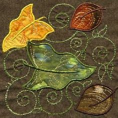 ~ TT_AppliqueLeafQuiltSquare02..one day I will be able to do this :)