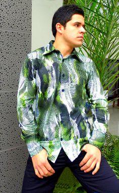 Camisa de luana estampa. / Shirt of printed luana.