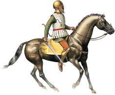 Scythian in service of the Macedonian Calvary