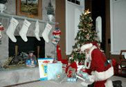Capture the Magic Picture of SANTA in your Living Room