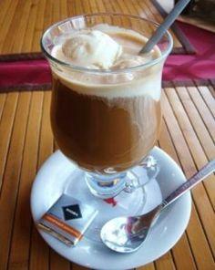 вкусный кофе. 5 рецептов Cocktails, Drinks, Chocolate Fondue, Nutella, Food And Drink, Pudding, Sweets, Coffee, Cooking