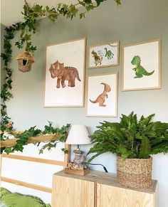 12 Amazing Dinosaur Inspired Bedrooms For Kids - Ideas & Inspo