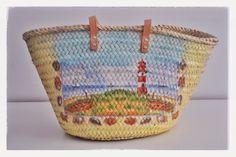 Monica Gars: Capazos para este verano/ Wicker beach basket/ www.monicagars.com