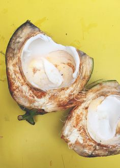 fresh 'jelly' coconu