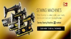 Geminy.in keeps our customers up-to-date with new technology based models of sewing new machines that are more comfortable and convenient to work on any fabric.