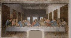 The Last Supper - Leonardo Da Vinci. Where Jesus shared his body and blood with his disciples and told the prophecy's.