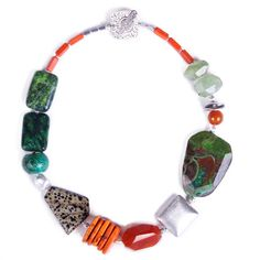 N°136 Vertigo Hummingbird Statement Necklace - Luka - Contemporary Handcrafted Statement Jewellery Australia $ AUD 299, free global shipping & returns. #statement necklaces, #designer jewellery, #unique jewellery, #handcrafted jewellery, # bespoke jewellery